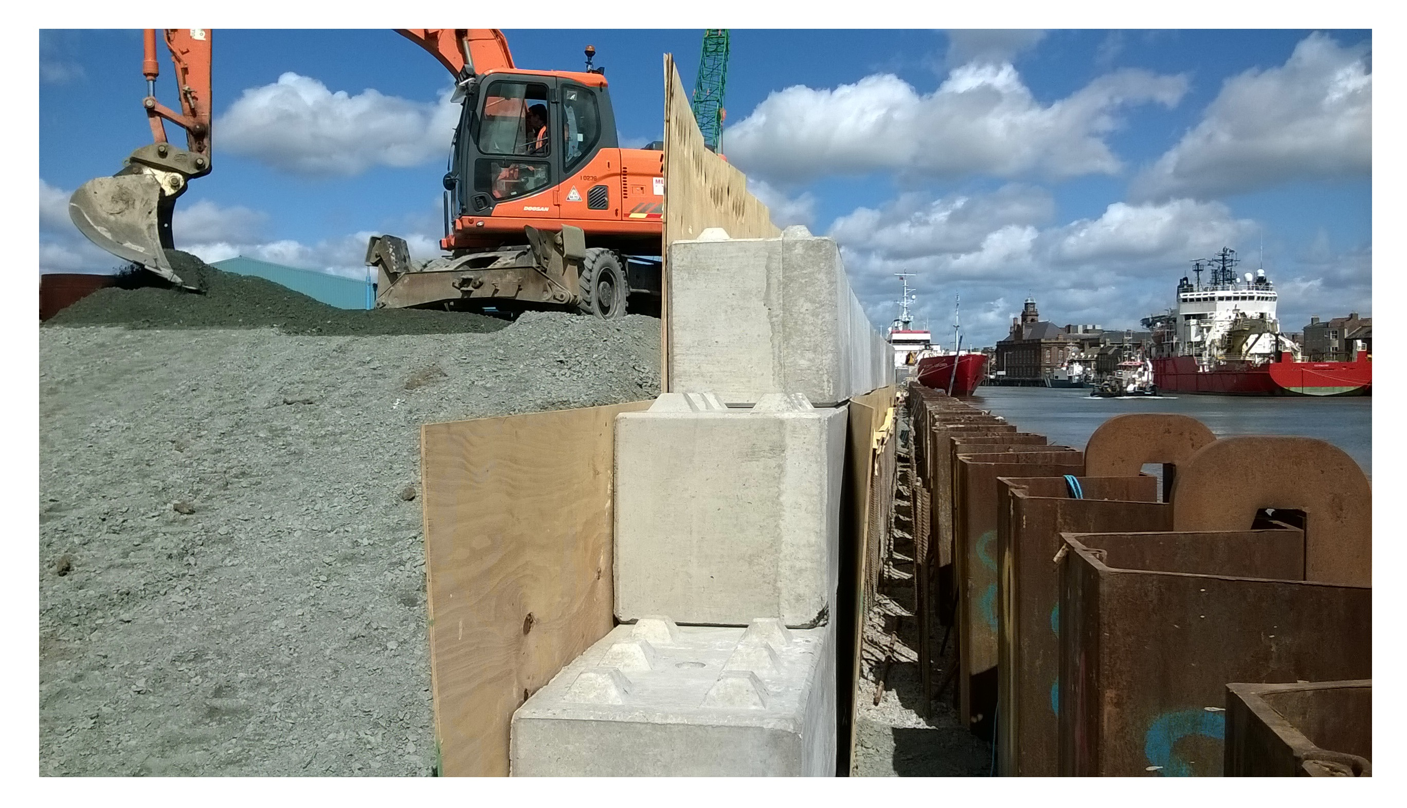 Great Yarmouth Quay Wall Improvements